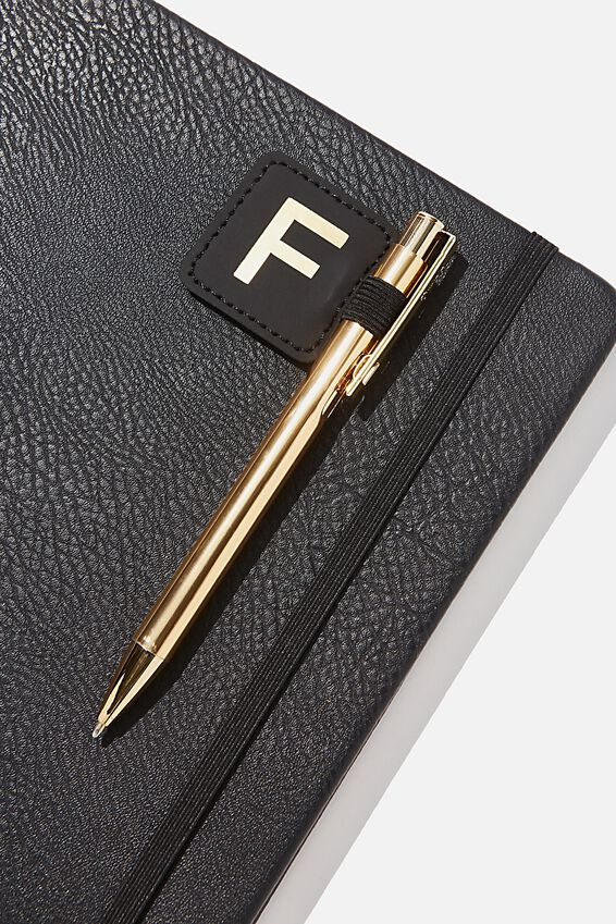 Pen Loop Sticker, BLACK F