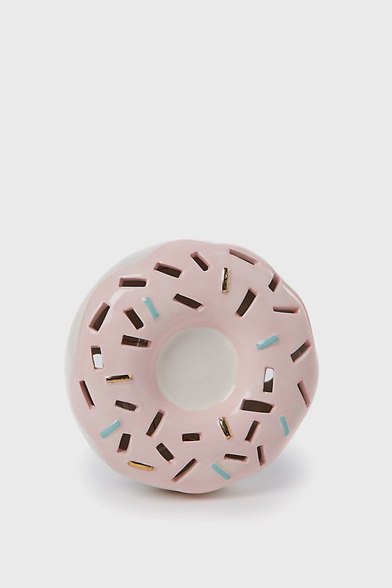Ceramic Novelty Light, DONUT