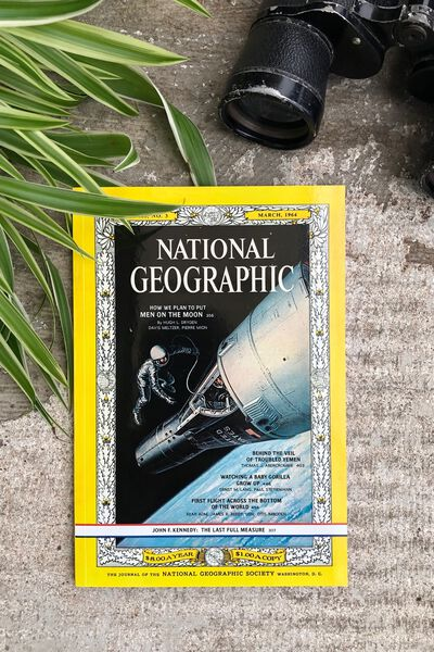 National Geographic Notebook, LCN NAT ASTRONAUT