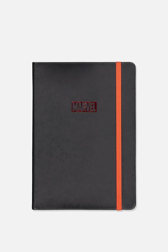 A5 Licensed Buffalo Journal, LCN MAR MARVEL LOGO
