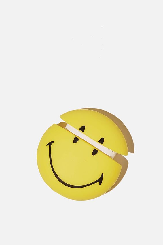 Smiley Ear Bud Sleeve, LCN SMI SMILEY FACE