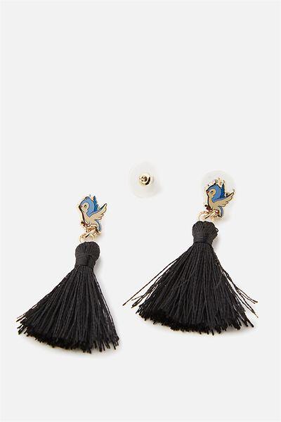 Premium Novelty Earrings, LCN BIRDS