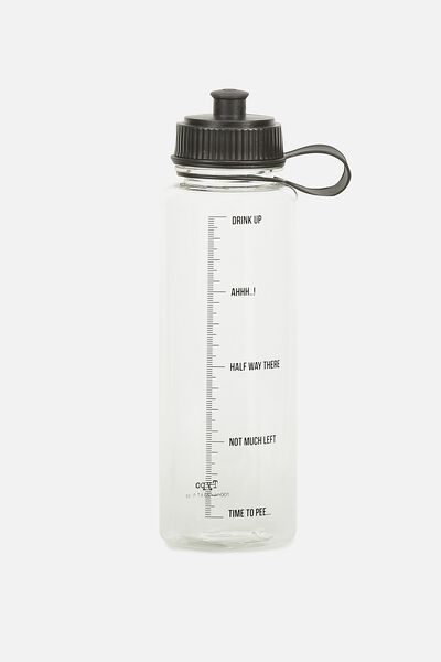 The Quencher Drink Bottle, NEED TO PEE!