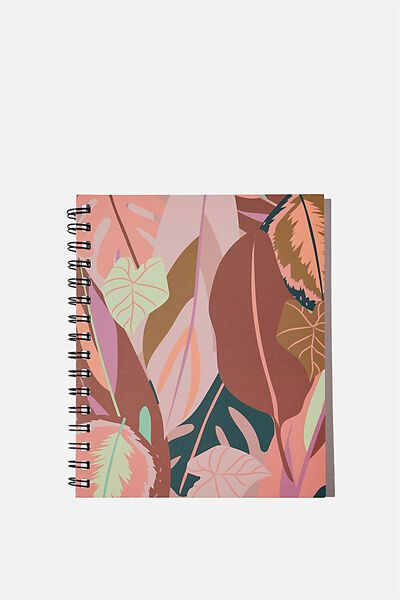 A5 Campus Notebook Recycled, LEAF