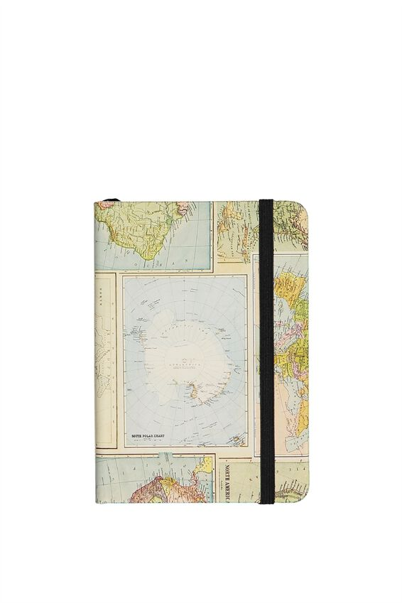 A6 Buffalo Journal, GRID WORLD MAP