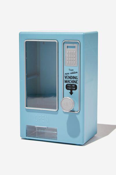 Mini Vending Machine, DENIM BLUE MATTE