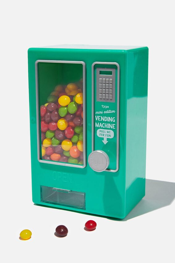 Mini Vending Machine, GREEN