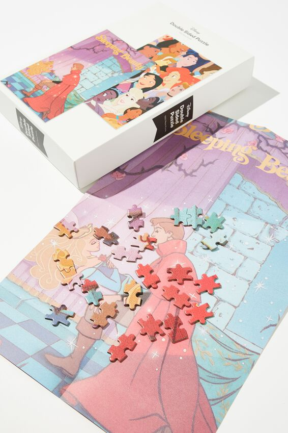1000 Piece Double Sided Puzzle, LCN DIS WALT DISNEY PRESENTS