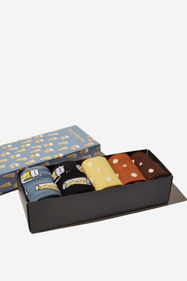 Box Of Socks, BEERS AND ALES! (M/L)