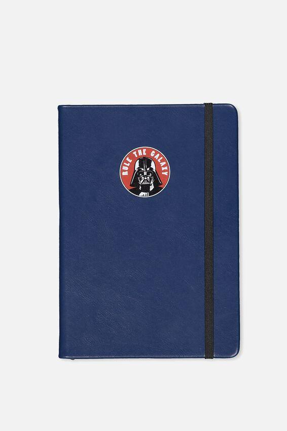 Licensed Buffalo Journal Medium, LCN STAR WARS DARTH NAVY