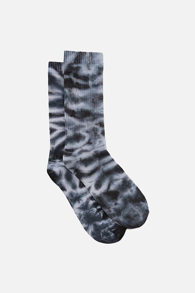 Socks, BLACK TIE DYE