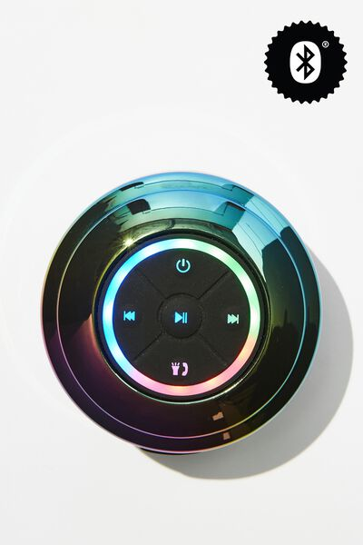 Wireless Led Shower Speaker, OIL SLICK