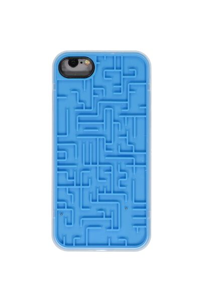 Novelty Phone Cover 7, 8, BLUE MAZE