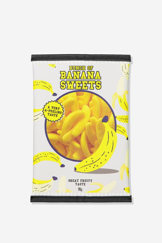 Snack Pencil Case, BANANA SWEETS