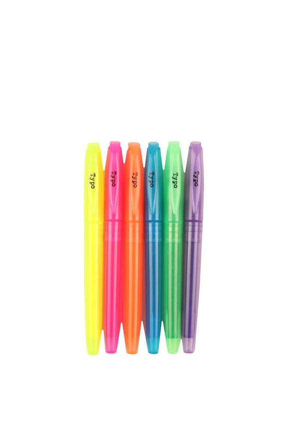 Highlighter 6 Pk, FLURO