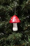 Resin Christmas Ornament, TOADSTOOL