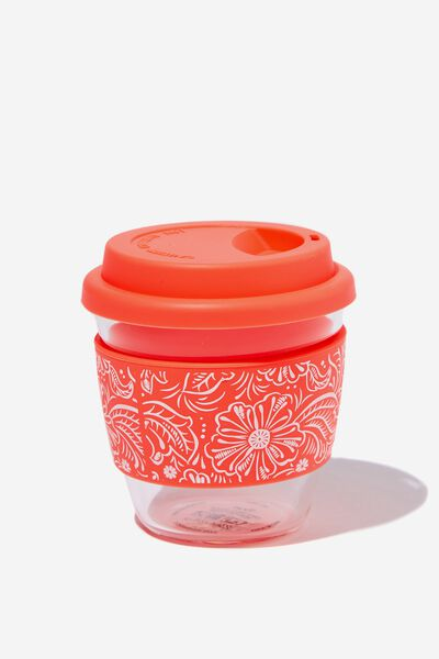 All Day Travel Cup 8Oz, CORAL LACE