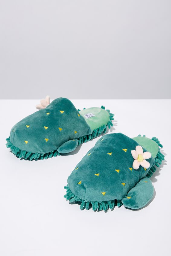 Novelty Slippers, MOP CACTUS