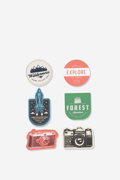 Jumbo Sticker Pack, TRAVEL STICKERS