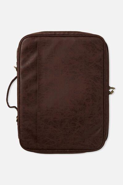 Mobile Laptop Folio 15 Inch, RICH TAN