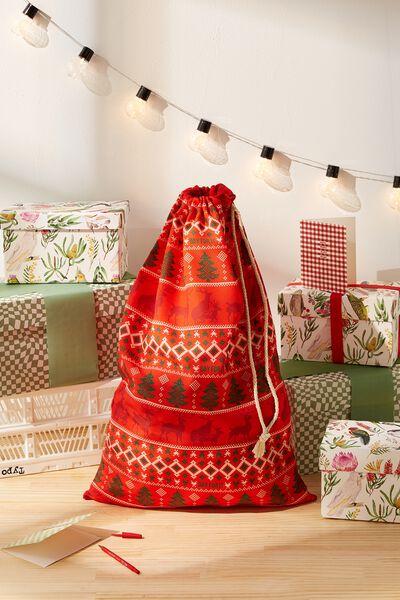 Santa Sack, NAUGHTY REINDEER DAY FOR IT!