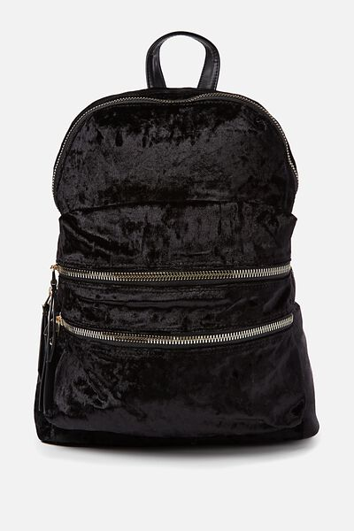 Berlin Backpack, BLACK VELVET