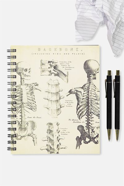A5 Campus Notebook - 240 Pages, SKELETAL
