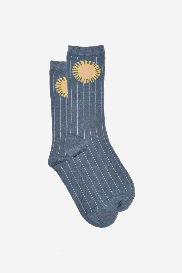 Socks, OPTIMISTIC BLUE
