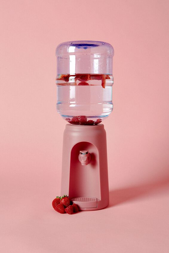 Desktop Water Cooler, DUSTY PINK