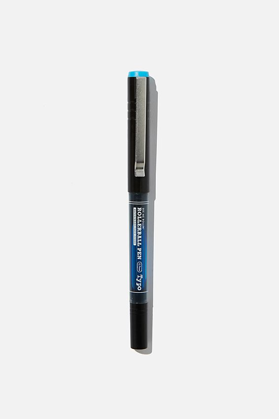 See Me Rollin Rollerball Pen, AQUA BLUE