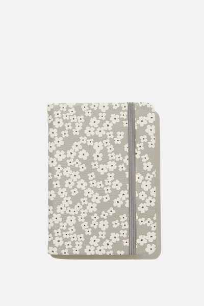 "A6 Buffalo Journal (5.8"" x 4.1""), PR CHERRY BLOSSOM COOL GREY"