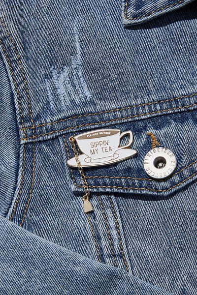Enamel Badges, CHAIN TEA