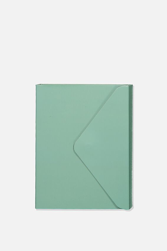 Pocket Sticky Note Set, MINT & YELLOW