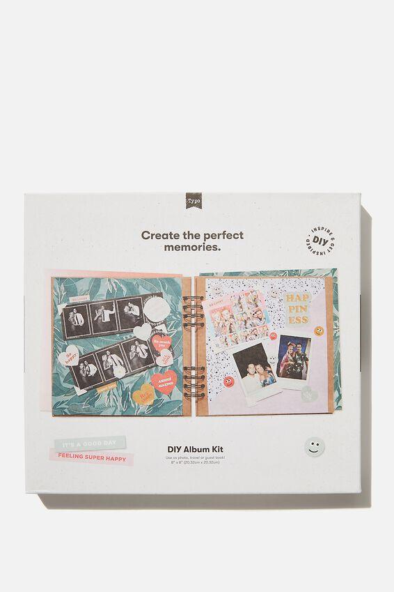 Diy Album Kit 8X8, GIRLIE SPOT COMBO