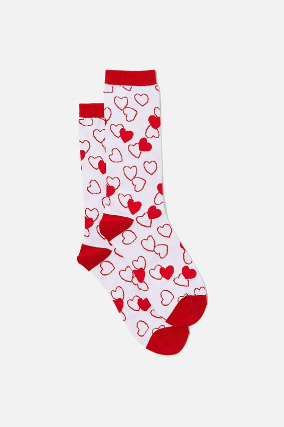 Socks, RED HEARTS