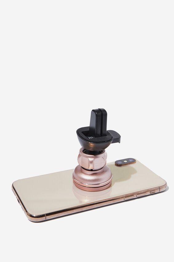 Car Phone Mount, ROSE GOLD