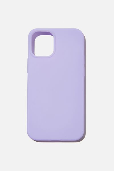 Slimline Recycled Phone Case Iphone 12 Mini, PALE LILAC