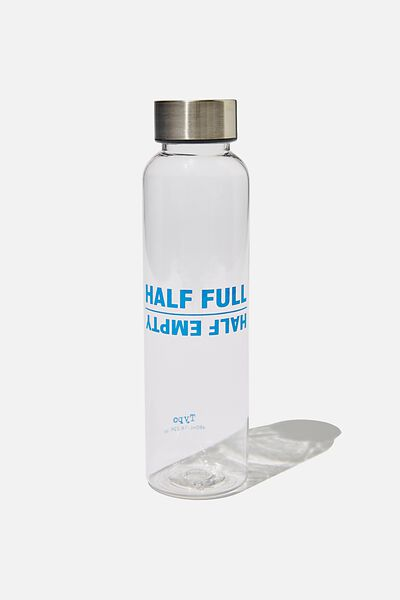 The Daily Drink Bottle, HALF FULL