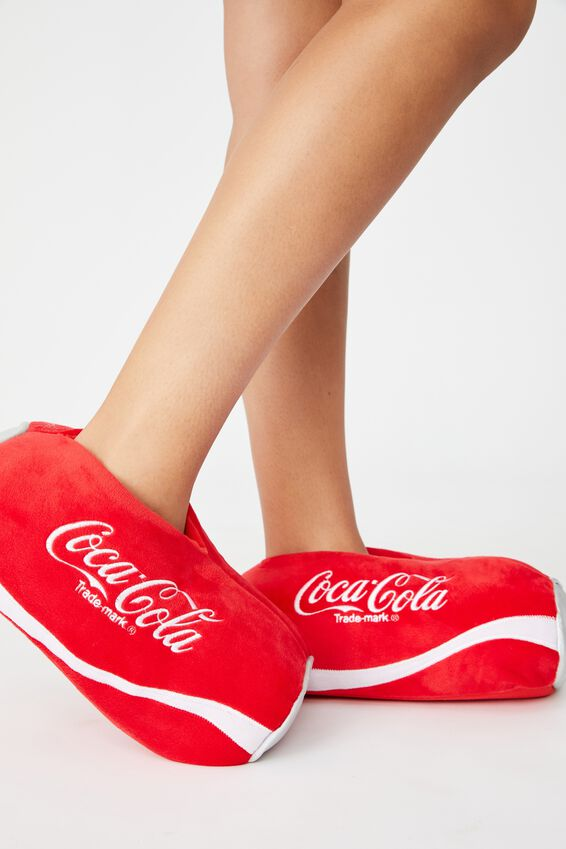 Coca Cola Slippers, LCN COK CANS