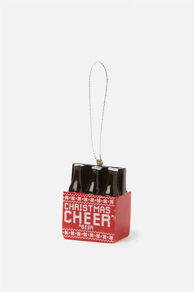 Christmas Ornament, PACK OF BEER