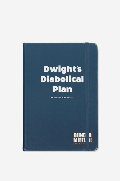 A5 Licensed Buffalo Journal, LCN UNI DWIGHT'S PLANS