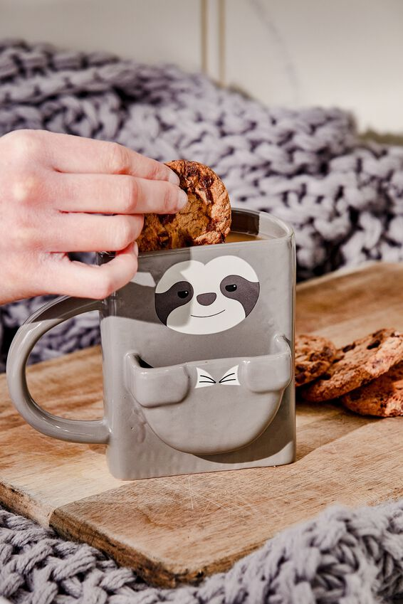Cookie Mug, SLOTH