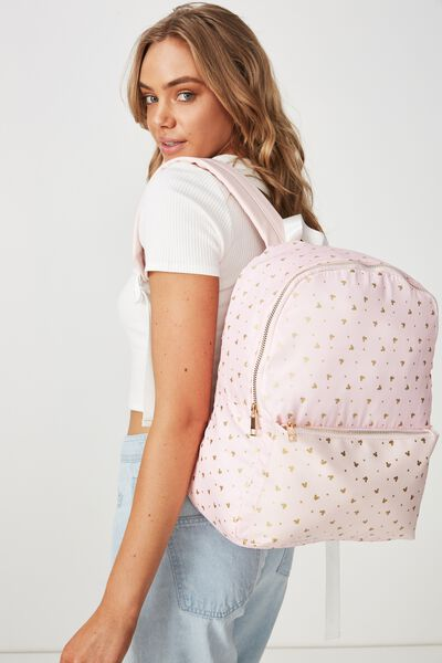 Everyday Backpack, LCN MICKEY DITZY BLUSH