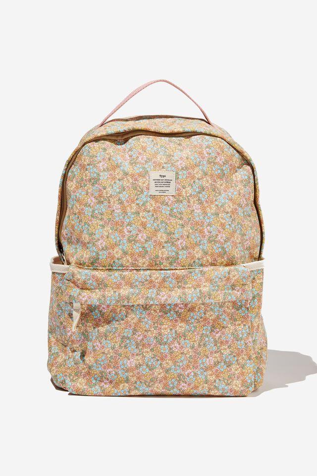 Alumni Backpack, DITSY FLORAL SAND