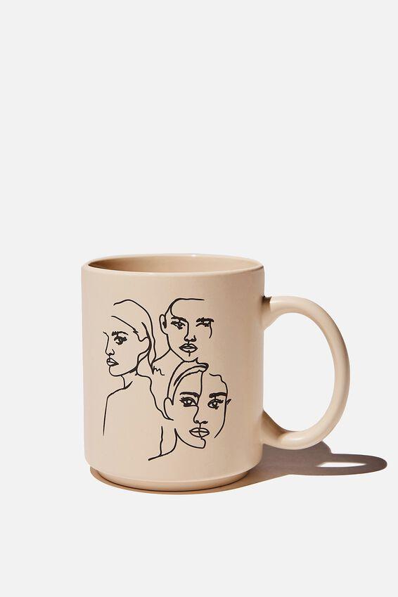 Daily Mug, GIRL S FACES