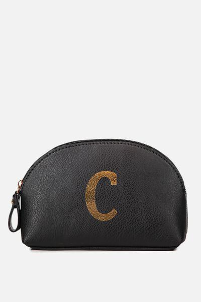 Alphabet Cosmetic Bag, C
