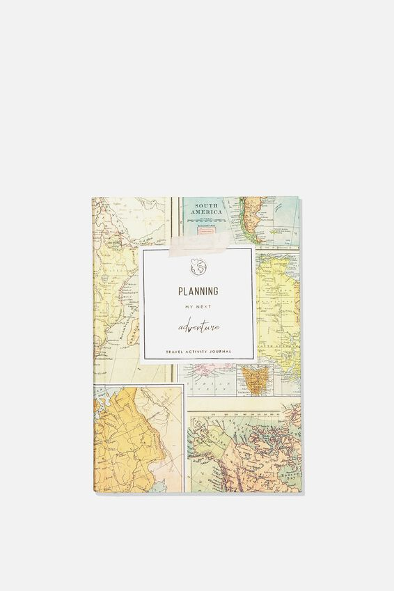 Premium Activity Journal, ADVENTURE PLAN