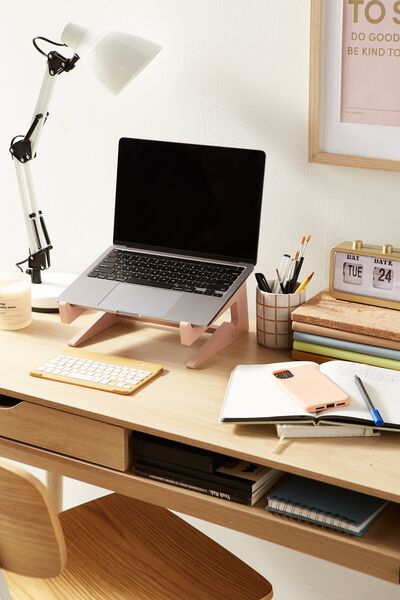 Collapsible Laptop Stand, NUDE PINK