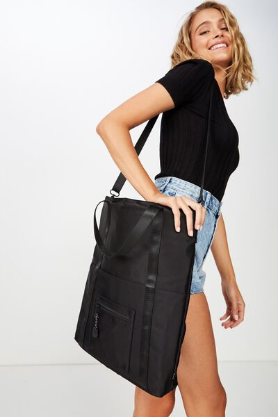 Laptop Tote Bag 15 inch, BLACK