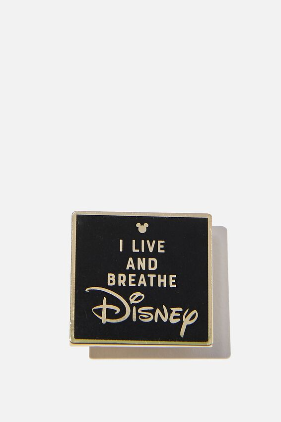 Disney Enamel Badge, LCN DIS LIVE AND BREATH